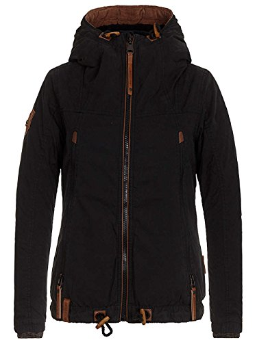Naketano Male Zipped Jacket Birol Jeck IV Black