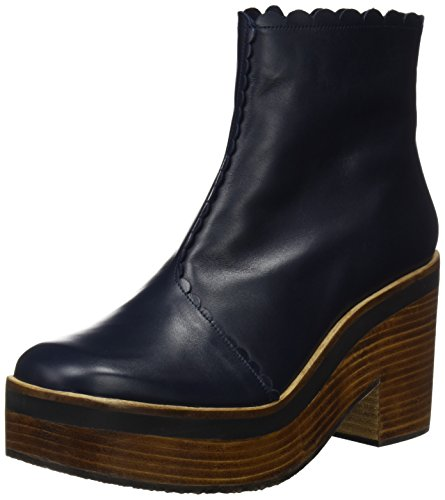 Audley 19981, Botines Mujer, Azul Navy, 40 EU