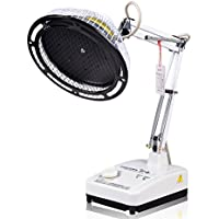 Aphrodite Metal temporizador 250W TDP lámpara de calor infrarrojo escritorio cabeza tipo Split largo brazo de compresión primavera FDA