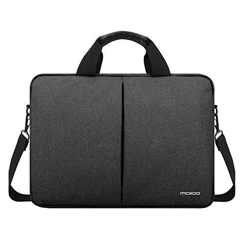 MoKo Laptop Rucksack, Mehrzweck Slim Computer Tasche Notebook Daypacks Leichte Reise Rucksack Business Schultasche, passt bis zu 14 Zoll ACER, ASUS, Samsung, MacBook, Oberfläche, Tablet - Dunkel Grau