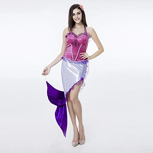 Kostüm Design Umriss - JJAIR Mermaid Kleid, Kunstleder Wet