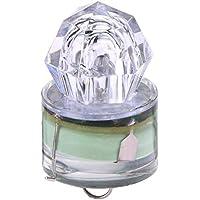ReFaXi LED Deep Drop Underwater Diamond Flash Fishing Light Squid Estroboscópico Cebo Señuelo (Verde)