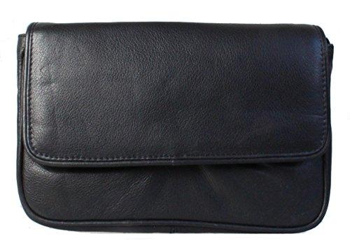 Christian Wippermann®, Borsa a tracolla donna Nero nero 20x 14 x 3,0 cm nero