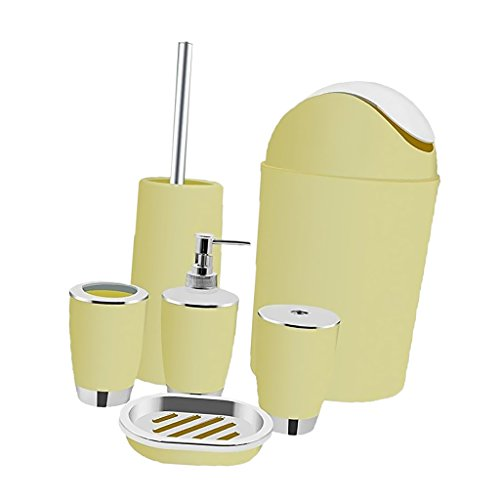 ✓ 6 Pcs Kunststoff Badezimmer Zubehör Test - Haushaltsgeräte für ...