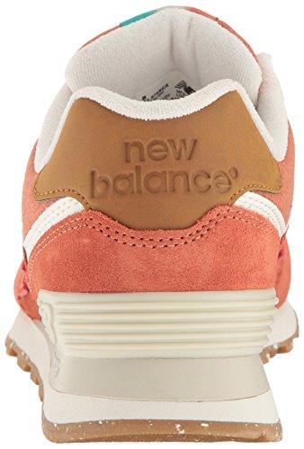 New Balance Lifestyle, Baskets Basses Femme Orange