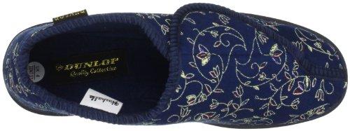 Dunlop Betsey Damen Hausschuhe Marineblau