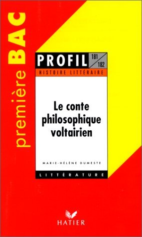 Le Conte philosophique voltairien by Marie-Hlne Dumeste (1994-08-01)