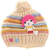 Shop Frenzy Kids Woolen Winter Soft Caps For Baby Boy/Baby Girl Fancy Party Wear Beanie Mokey Cap (1-2 Years)