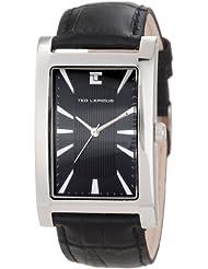 Ted Lapidus - 5115301 - Montre Homme - Quartz Analogique - Bracelet en Cuir Noir