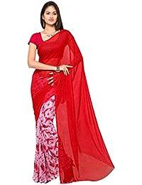 Ligalz Georgette Saree (Printed_Sarees_L0101431_1# Pink | Fabric Material : Georgette)