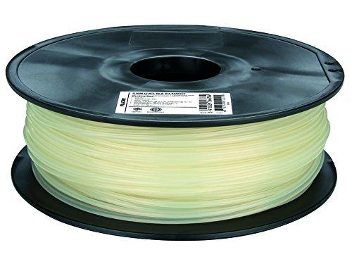 Fil pour imprimante 3D plastique PLA Ø3 mm naturel Velleman PLA3N1