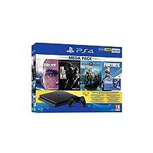 Sony PlayStation 4 500GB Mega Paket PlayStation Konsolu (Sony Eurasia Garantili)