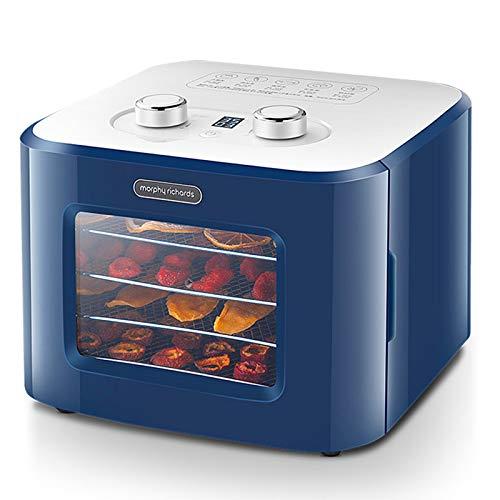 ZJH Dörrobsttrockner mit digital Einstellbarer Zeitschaltuhr und Temperaturregelung für Trockenfrüchte, Obst, Gemüse und Nüsse -