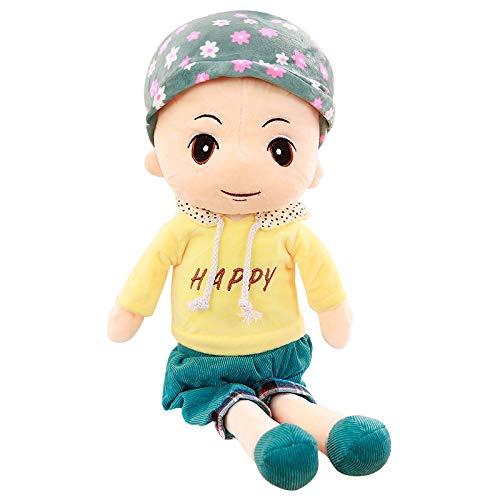 AILIZE Boy Rag Doll Plüschspielzeug Niedlichen Jungen Puppe Humanoide Männlich Kind Geburtstag Tag Geschenk