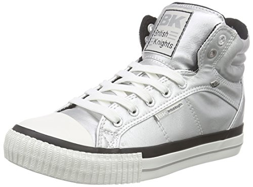 British Knights Damen Dee High-Top Silber (Silver 02)
