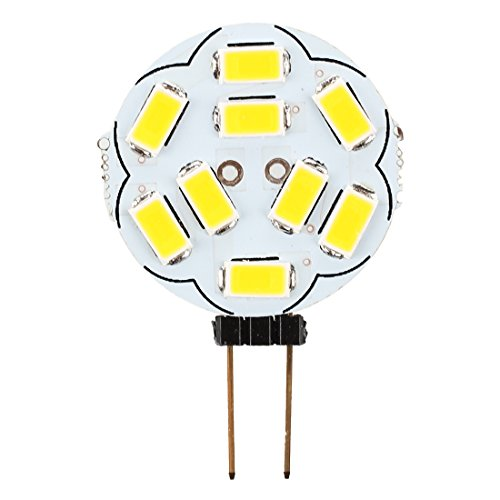 Preisvergleich Produktbild SODIAL(R) 10x G4 9 5630 SMD LED Stiftsockel Lampe Spotlicht Leuchte Energiesparlampe 1W