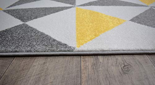 Nazar Tappeto da Salotto Moderno a Design Scandinavo – Colore e ...