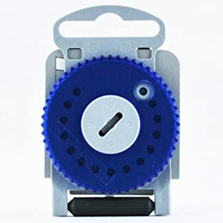 HF-4 Cerumen Filter für Hörgeräte (HF4 - Blau Linke Seite)