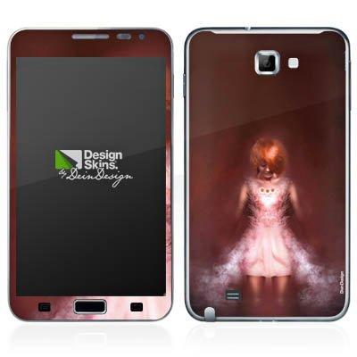 Samsung Galaxy Note Case Skin Sticker aus Vinyl-Folie Aufkleber Mädchen im Dunkeln (Mädchen Costums Für Halloween)