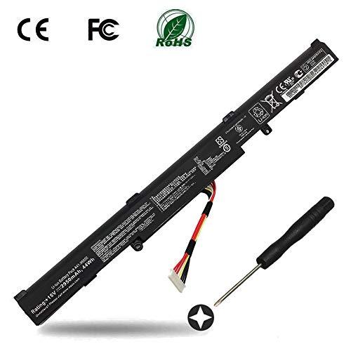 A41-X550E Batterie für ASUS 15V 44wh Akku Asus A450J A450JF X450J X450JF K550E K550DP D451V K550D R751 R752 F751 F550 X751 K751 P750L -