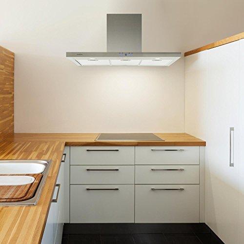 Klarstein Limelight Cappa Aspirante da cucina da parete in acciaio ...