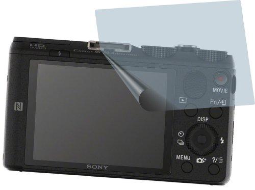 2x Sony Cyber-shot DSC-HX60 ENTSPIEGELNDE PREMIUM Displayschutzfolie Bildschirmschutzfolie von 4ProTec - Nahezu blendfreie Antireflexfolie