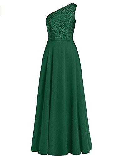 KA Beauty - Robe - Trapèze - Femme vert foncé
