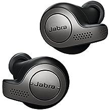Jabra Elite 65t auriculares estéreo totalmente inalámbricos con Bluetooth® 5.0 y Alexa integrada, negro y titanio