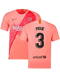 2018-2019 Barcelona Third Nike Football Soccer T-Shirt Camiseta (Gerard Pique 3