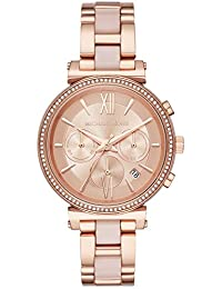 Michael Kors Analog Rose Gold Dial Women's Watch - MK6560