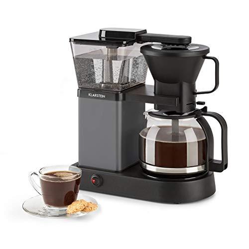 Klarstein GrandeGusto Kaffeemaschine mit Kaffeekanne • Filter-Kaffeemaschine • Kaffeeautomat • 1690 Watt • 1,3 Liter Wassertank • bis 10 Tassen • 96°C Brühtemperatur • Warmhaltefunktion • schwarz