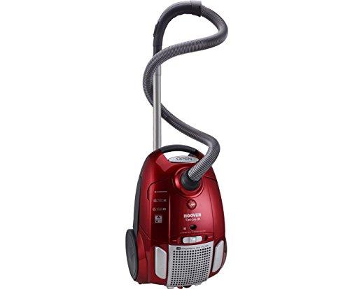 HOOVER Aspirapolvere Con Sacco TE70-TE75 Potenza 700W Classe Energetica A Colore Rosso