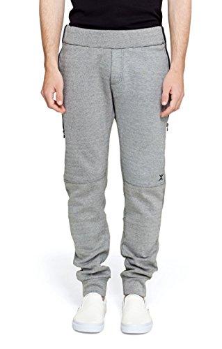 One piece P-pa16003, Pantalon de Sport Femme Rose (Grey Melange)