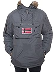 Geographical Norway-Chaqueta deportiva de invierno bronson boy, color gris