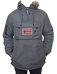 Geographical Norway-Chaqueta deportiva de invierno bronson boy, color gris