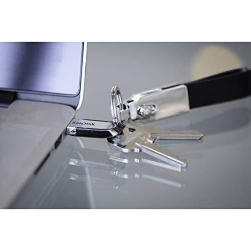 Sandisk Ultra Flair 256 GB, Chiavetta USB 3.0, Velocità di Lettura fino a 150 MB/s, Nero
