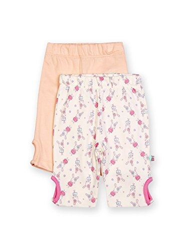 FS Mini Klub Baby Girls' Peach Legging (Pack Of 2)