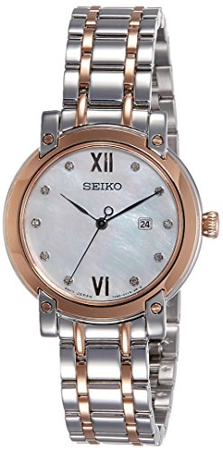 Seiko Reloj Analogico para Mujer de Cuarzo con Correa en Acero Inoxidable SXDG84P1