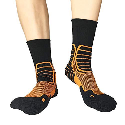 r Beruf Basketball Socken Schnell Trocknend Terry Im Freien Sportsocken -39-45 ()