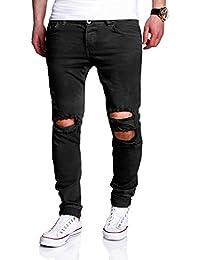 MT Styles Destroyed Jeans Slim Fit Jeans RJ-2021