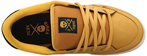 C1RCA  Lopez  50, Sneakers basses mixte adulte Golden/Black