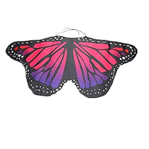 Preisvergleich Produktbild ZEELIY Karneval Fasching Halloween Parties Kind Junge Mädchen Böhmen Schmetterlings-Schal Kleid Zubehör