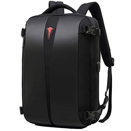 Wanderrucksack Camping Daypack Tasche mit Solar Power Board und Laptop Rucksack für Laptop mit USB-Ladeanschluss Abwehrend Schule Reisen Casual Daypack Reisen Laptop Slim Lightweight Bag