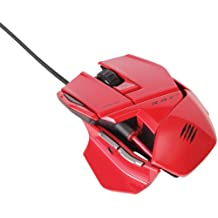 Mad Catz R.A.T. 3 - Ratón gaming, color rojo