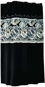 Sealskin 233071319 duschvorhang rosen 180 x 200 cm amazon - Schwarzer duschvorhang ...