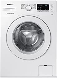 Samsung 6 kg Fully-Automatic Front Loading Washing Machine (WW60M206LMW/TL, White, Inbuilt Heater)