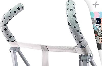 JANABEBE Funda protectora universal para manillar, mango de silla de paseo, cochecito