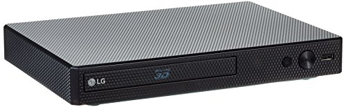 LG BP556 3D Blu-ray Player (WLAN, Smart TV, DLNA, Upscaler 1080p, LAN, USB) schwarz