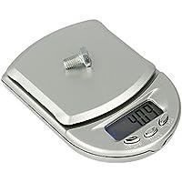 Báscula Digital de Precisión, Rango de Pesaje de 0,1g a 500g, Balanza Portátil, Peso Joyero, M4 - Electrónica.
