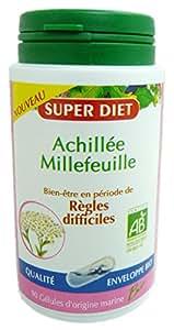 SUPER DIET Achillée Millefeuille Bio Règles Difficiles - 90 gélules